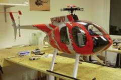 Hughes 500 -Rot- 42
