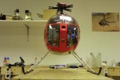 Hughes 500 -Rot- 44