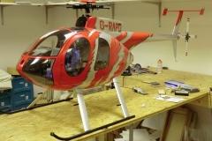 Hughes 500 -Rot- 45