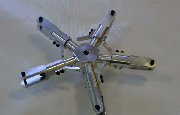 3-4-5-Blattrotorkopf ohne Scaleteile