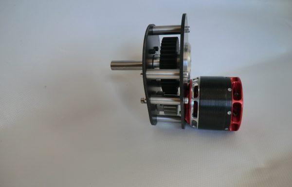 (Deutsch) Adaptergetriebe für PYRO 850 / PYRP 900 / PYRO 1000 Elektromotor
